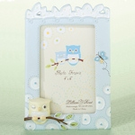 Blue Owl 4 x 6 Baby Picture Frame