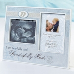 Wonderfully Made Ultrasound Frame - Pink and Blue