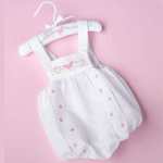 Butterfly Blessings Romper (0-6 Months)