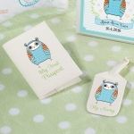 Owl Design Baby's First Luggage Tag & Passport