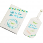 Baby's First Luggage Tag & Passport (3 Colors)