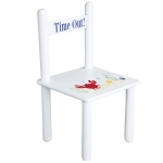Personalized Time Out Chair