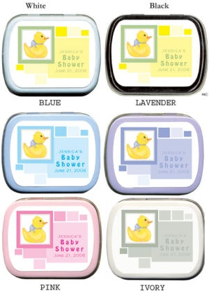 Filled Contemporary Boxed Little Yellow Ducky Tins imagerjs