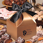 Copper Classic Treats Logo Gift Box