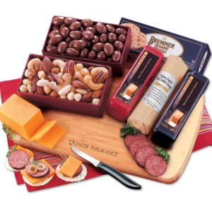 Maple Ridge Party Gift With Logo Cheese Board Gift Baskets