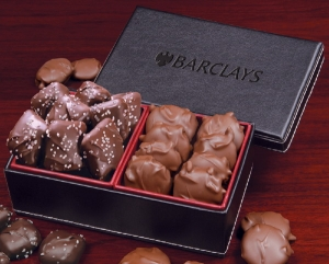 Caramel Delights in Faux Leather Gift Box imagerjs