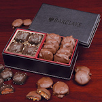 Caramel Delights in Faux Leather Gift Box