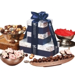 Sweet Treats Snowflake Logo Tower