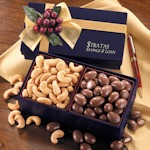 Maple Ridge Chocolate & Nuts Navy Gift Box