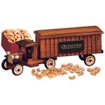 1930-Era Tractor-Trailer Truck with Nuts