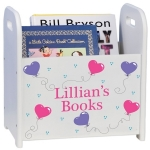 Personalized Book or Magazine Rack