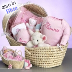 Deluxe Moses Baby Basket