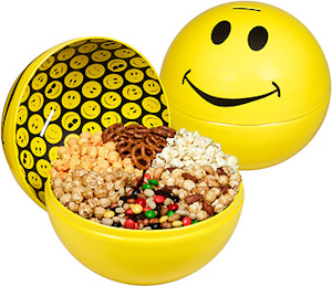 All Smiles Popcorn Snack Bucket image