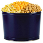 Big Blue Three-Way Popcorn Tin