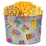 Birthday Popcorn Gift Tin