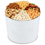 Big White Goodie Gift Tin of Snacks