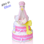 Special Delivery Two Tier Diaper Cake