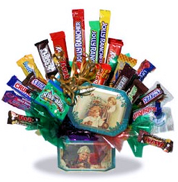 Old Fashioned Christmas Candy Bouquet image
