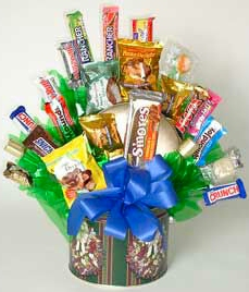 Just Because Candy Gift Bouquet image