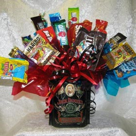 Jack Daniels Candy Tin Bouquet image