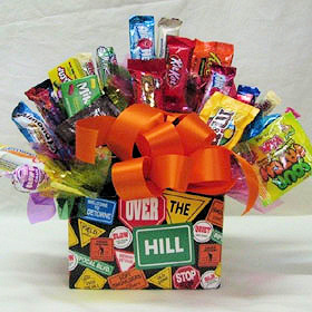 Over the Hill Candy Bouquet Deleted image