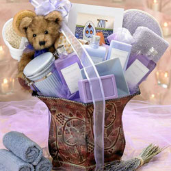 True Bliss Spa Basket image