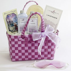 Lavender Fields Spa Tote image