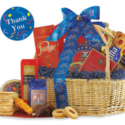 Thank You Snack Gift Basket Discontinued image
