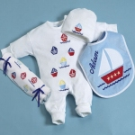 Little Sailor Layette Set