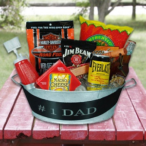 #1 Dad Party Tub imagerjs