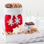 Mrs. Fields Nibbler and Snowflake Cookie Tote Bag
