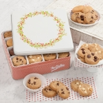 Mrs. Fields Nibbler Cookie Wreath Tin