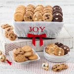 Mrs. Fields Holiday Joy Nibbler Cookie Basket