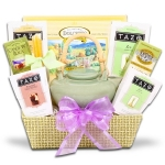 Zen Tea Tray Gift Basket