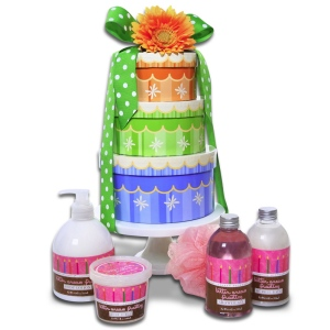 Happy Birthday Spa Wishes Gift Cake imagerjs