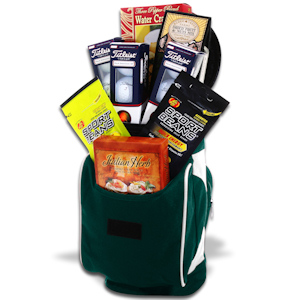 Golf Caddy Cooler Gift Basket imagerjs