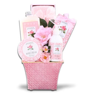 Rose Relaxation Spa Gift Basket imagerjs