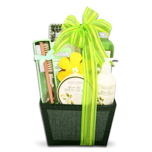 Spring Green Tea Spa Gift imagerjs