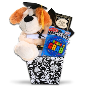 Here's to the Grad! Gift Basket imagerjs