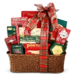 Holiday Traditions Gourmet Food Gift Basket