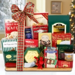 Deluxe Holiday Cutting Board Gourmet Food Gift
