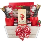 Holiday Breakfast in Bed Gift Basket