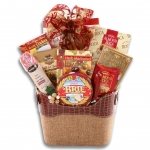 Gourmet Connoisseur Holiday Gift Basket