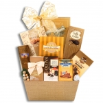 Golden Chocolate Decadence Gift Basket