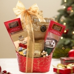 Holiday Hot Chocolate Gift Basket