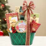 Happy Holiday Wishes Gift Basket