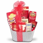 Sweet Silver Dreams Gift Basket