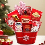 Festive Treats Christmas Gift Basket