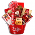 Holiday Sweets and Treats Cookie Gift Basket