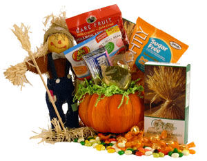Diabetic Scarecrow Gift Basket image